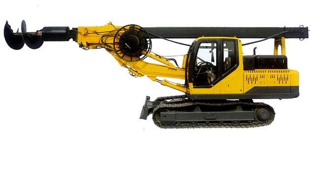<b>打桩机 - 履带旋挖钻机打桩机X6-135B</b>