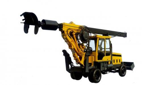 <b>轮式旋挖钻机TX6-120B-优质王打桩机</b>